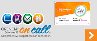 ORENCIA® (abatacept) On Call™