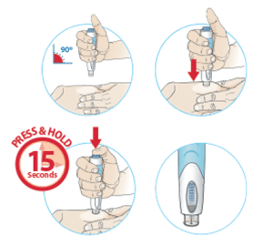 ORENCIA® (abatacept) ClickJect AutoInjector Step 5